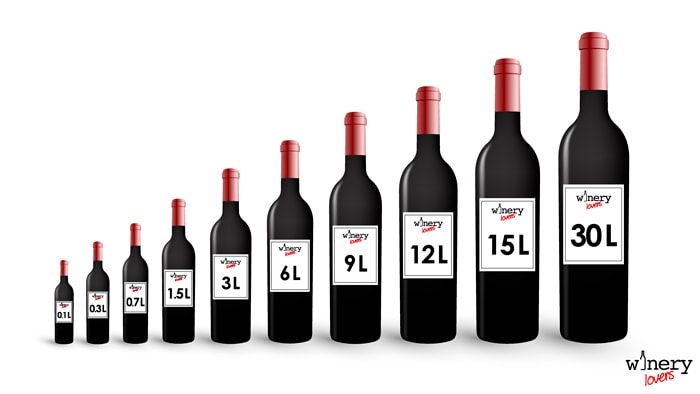 The guide of wine bottles sizes | WINERY LOVERS