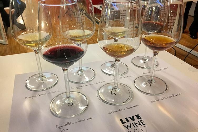 Live Wine 2017 Marsala Tasting