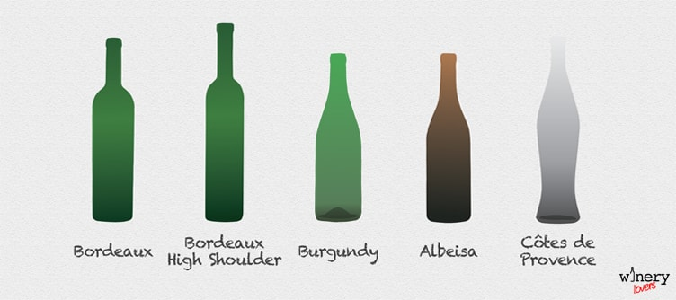 Wine Bottle Shapes One