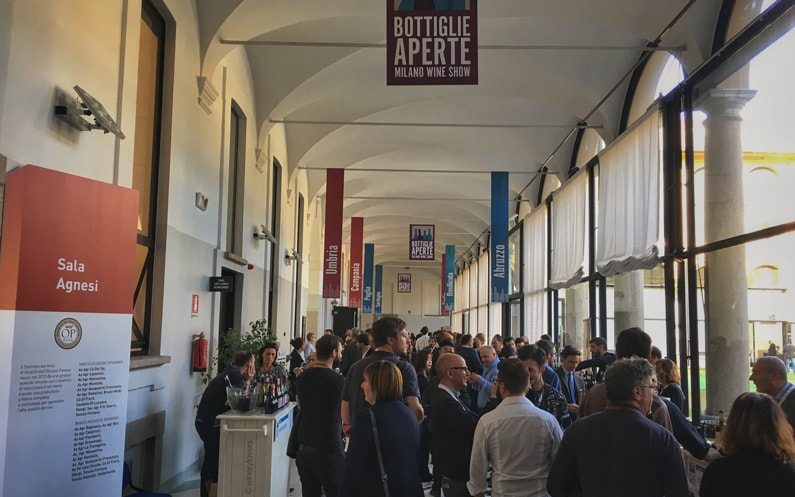 Bottiglie Aperte 2017: more wine business in Milan