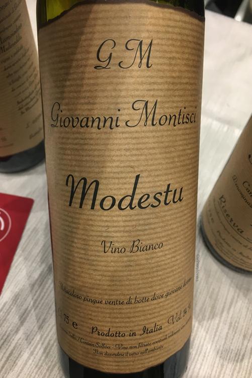Io Bevo Così 2018 Montisci Modestu