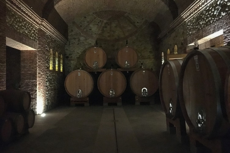 Cascina Chicco Barrels