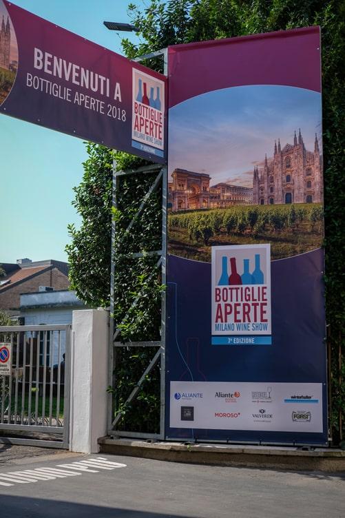 Bottiglie Aperte 2018 Entry