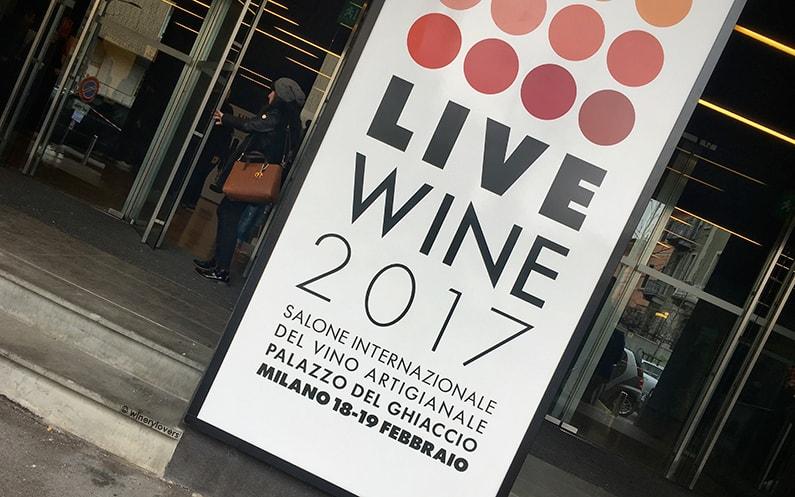 Live Wine 2017 Entrance