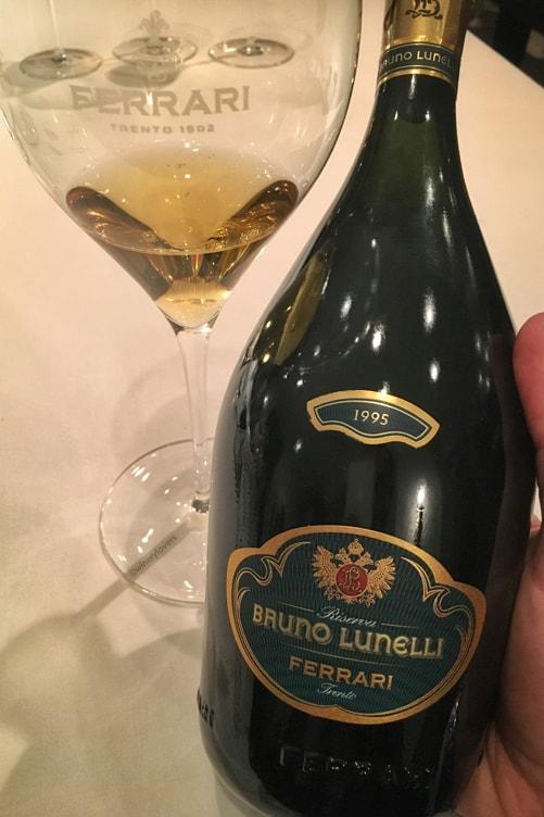 Ferrari Trento 1995 Bruno Lunelli