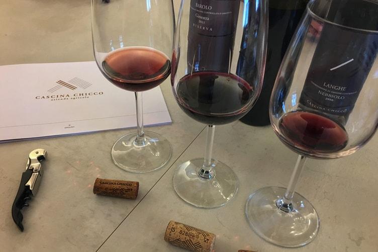 Cascina Chicco Wine Tasting