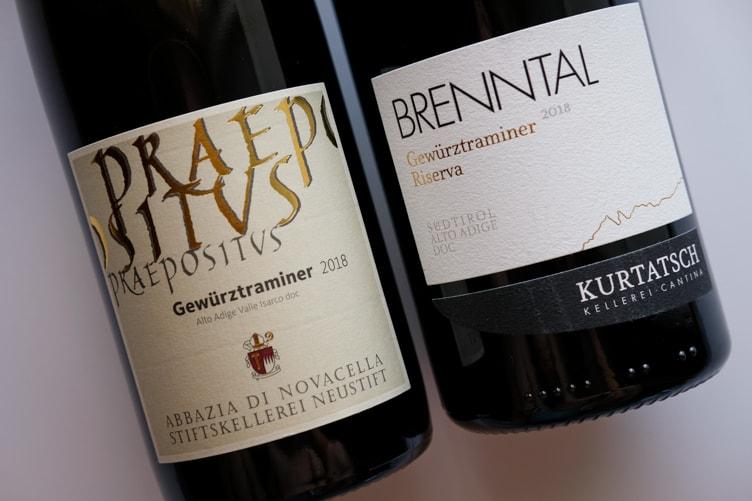 Alto Adige Wine Altitude Abbazia di Novacella Kurtatsch Gewürztraminer